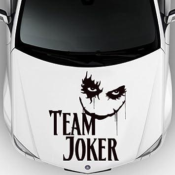 Car Decal Hood Sticker Vinyl Design Auto Moto Team