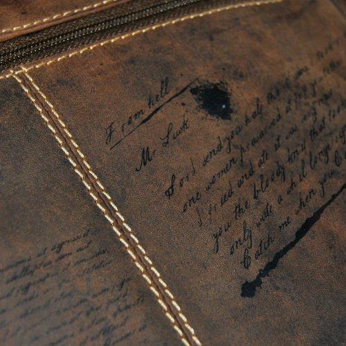 Longtime Gothic  Lobotomy, Sac pour homme à porter à l'épaule marron Taille unique