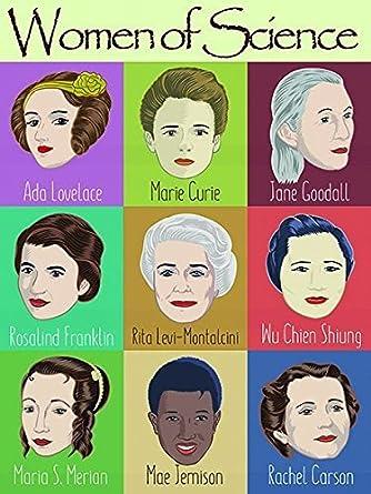 Amazon.com: Nueve Mujer en la Ciencia Cartel 18 por 24 ...