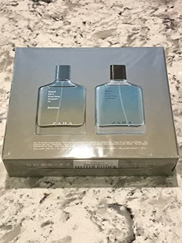 ZARA Man New! Eau de Toilette SEOUL & SEOUL SUMMER 2 x (100ml /3.4 oz )