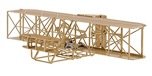 - Wright 1903 Flyer - Brass Model Airplane Kit (1:160) Scale by Aero Base