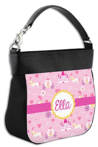 Leather w Trim Princess Hobo Back Genuine Purse Personalized Front amp; Carriage Xt44qwY