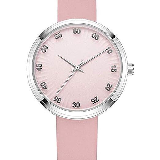 Scpink Relojes de Cuarzo para Mujer, Liquidación Relojes análogos de Moda para a la Venta