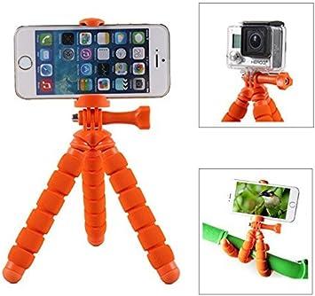 Fotopro RM-95-O - Mini trípode Flexible, con Soporte para ...
