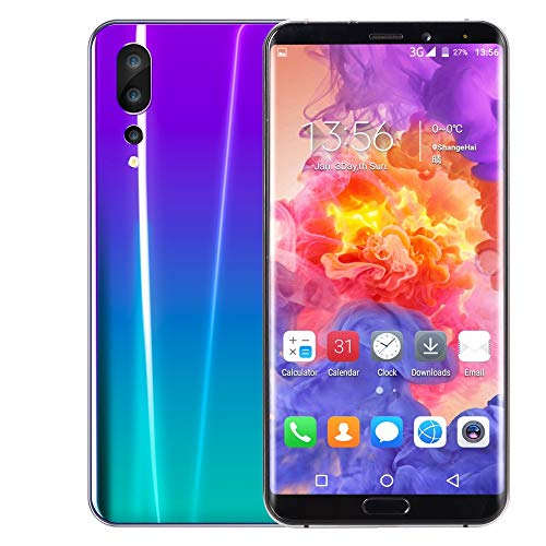 Full Screen Unlocked Smartphone | 6.1 inch HD Camera GSM 3G WiFi Mobile Phone, 8-Core Processors, 1GB RAM + 8GB ROM, Edge Android Cell Phones Telephones Dual SIM Global Call