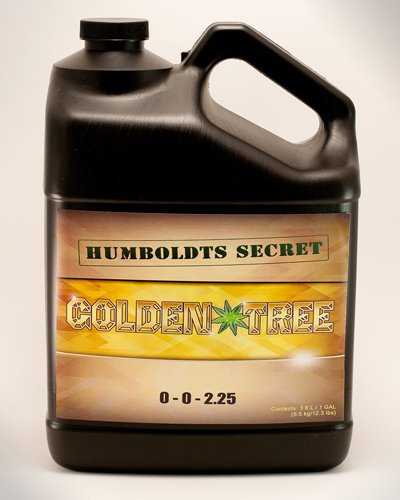 Best Plant Food For Plants and Trees: Humboldts Secret Golden Tree, Explosive Growth, Yield Increaser, Dying Plant Rescuer, Use on Flowers, Roses, Fruit, Vegetables, Tomatoes, Organic (1 Gallon) by Humboldts Secret