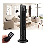 40' LCD Tower Fan Digital Control Oscillating Cooling Air Conditioner Bladeless
