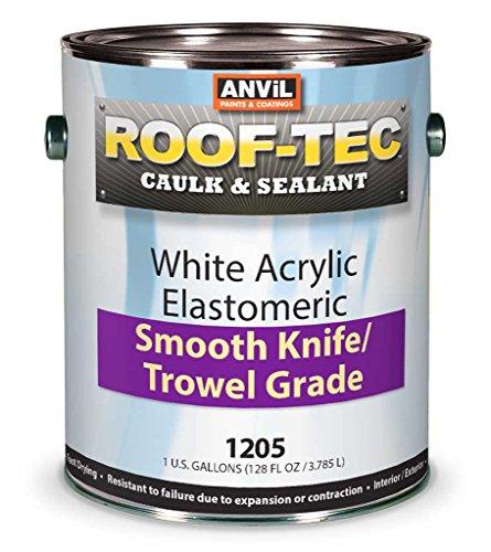 Anvil Elastomeric Smooth Knife/Trowel Grade Caulk, 1 Gallon (Pack of (Anvil Block)