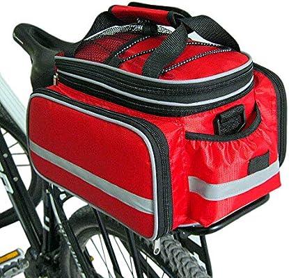 Hanris - Maletín para Bicicleta (10-25 L, Incluye Funda para la ...