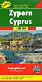 Cyprus Road and Leisure Map with Top 10 Tips (English, Spanish, French, Italian and German Edition)
