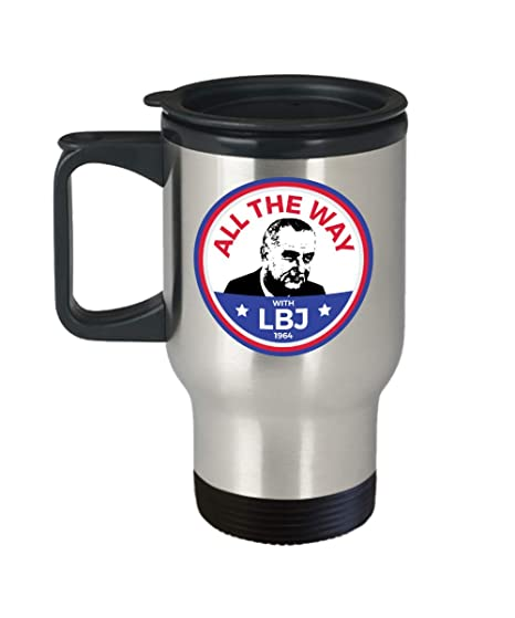 LBJ Mug 1964 President Lyndon Johnson Campaign