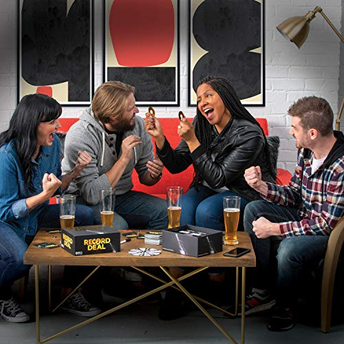 Shenanigames Adult Party Games: Record Deal - Sing Your Heart Out to unpublished Funny & Weird Song Lyrics - Choose Your own Level of NSFW - Adaptable for Work, College Parties, Bars & Game Nights