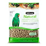 ZuPreem Natural with Added Vitamins, Minerals, Amino Acids Medium/Large Bird Food,3 lb.