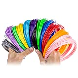 3D Pen Filament Refills   1.75mm ABS 13 Colors (32.9 ft each) 420 Ft   Extra Long and Strong   Easy to Use Includes Glow in the Dark color   Bonus 50 Stencil Ebook for Kids and Adults by Blue Orient