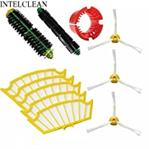 VCPS(TM) Accessory for Irobot Roomba 500 530 550 560 Series Vacuum Cleaner Kit-Includes 5 Pcs Filter 3pcs Side Brush 1 Pc Bristle Brush Flexible Beater Brush Cleaning Tool
