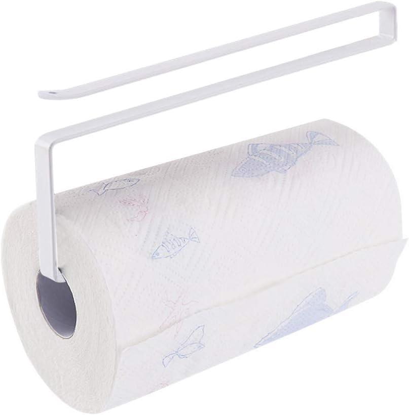 Accessories Shelf Tissue Hanger Towel Holder Under Cabinet Paper Roll Rack Qi