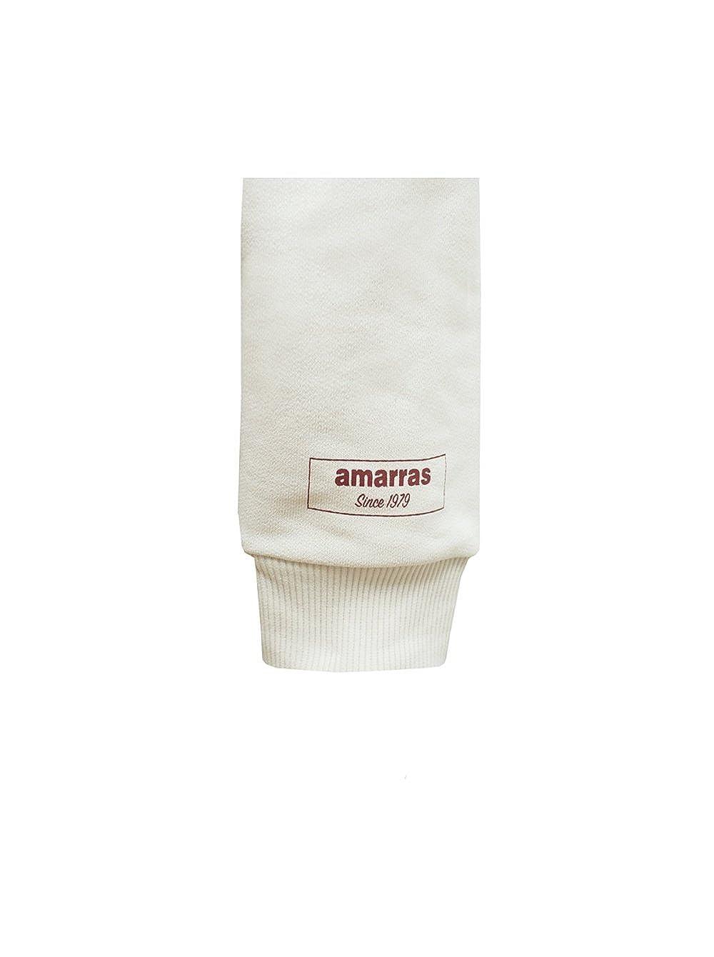 AMARRAS - Sudadera, Color: Nude/Burdeos (L, Beige): Amazon.es: Ropa y accesorios