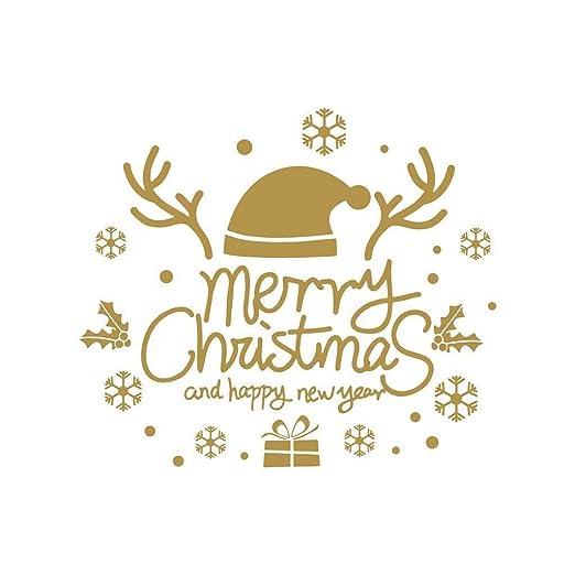 Sylar Pegatinas De Navidad Pegatinas Pared Frase De Merry
