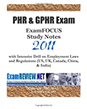 PHR and GPHR Exam ExamFOCUS Study Notes 2011, ExamREVIEW, 1456539930