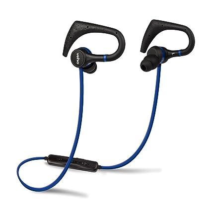 Veho ZB-1 In-Ear Sports - Auriculares inalámbricos con Bluetooth, Color Azul