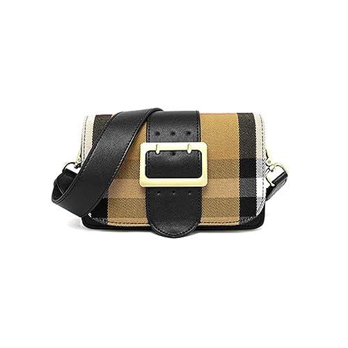 34a75cf5b2ef Ladies Leather Crossbody Handbags for Women Small Vintage Purses Bowling Bag   Amazon.co.uk  Shoes   Bags