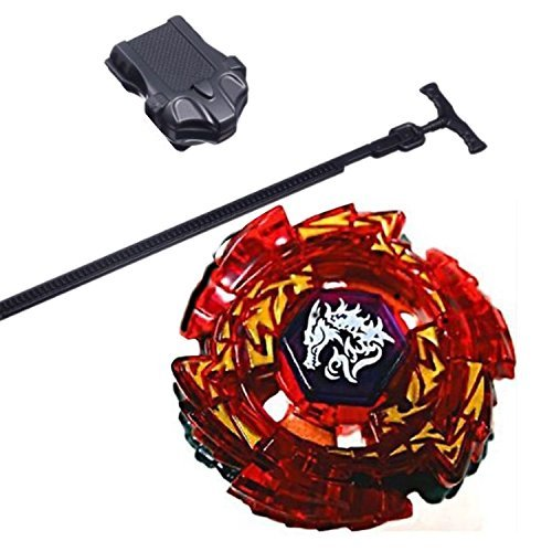 L Drago Costume (Ultimate Meteo L-Drago Rush Red Beyblade STARTER SET w/ Launcher & Ripcord)