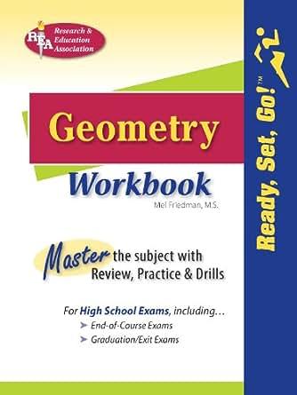 Amazon.com: Geometry Workbook (Mathematics Learning and Practice ...
