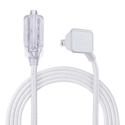 Globe Electric 22811 Designer Series 9-ft Fabric Extension Cord, 3 ...