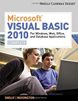 Microsoft Visual Basic 2010 for Windows, Web, and Office Applications: Complete Front Cover
