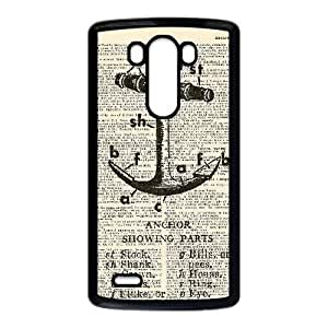 Navy Stripes Anchor For LG G3 Phone Cases HTY902387