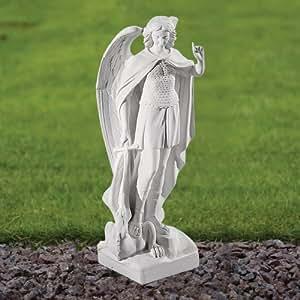 Estatuas de jard n de m rmol san miguel 58 cm escultura - Estatuas de jardin ...