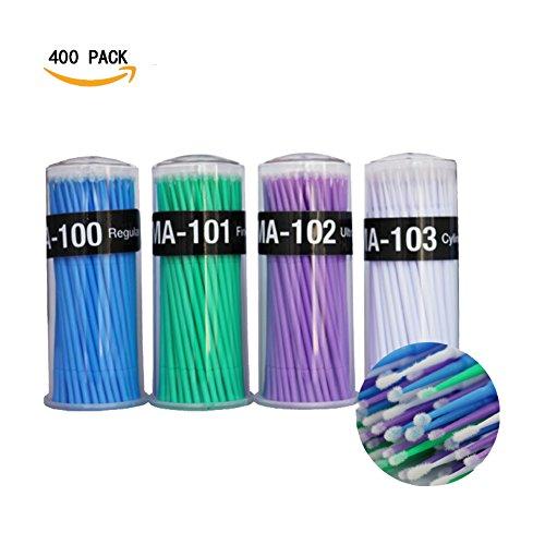 Micro Applicator (Micro Applicator Brushes Disposable Micro Brushes Swab Applicators for Dental/Oral/Makeup 400pcs)