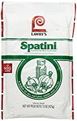 Spatini Spaghetti Sauce and Seasoning Mix is a blend of all natural herbs and spices. It has no added MSG. All Natural. Use Spatini with any kind of tomatoes, fresh or canned, to make homemade spaghetti sauce in minutes. This package is a foo...
