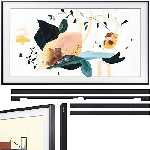 Samsung QN65LS03TA The Frame 3.0 65-inch QLED Smart 4K UHD TV (2020 Model) Bundle with Samsung VG-SCFT65BL/ZA (2020) 65-inch The Frame Customizable Bezel - Black