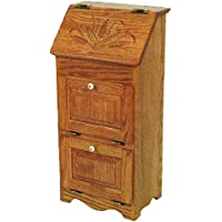 Oak 3 Door Vegetable Bin - Amish Made in USA