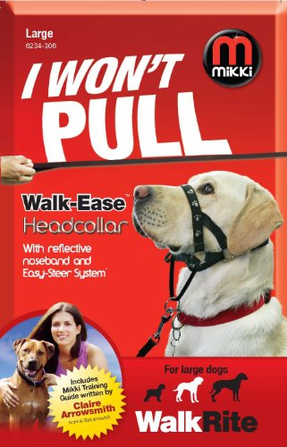 Mikki Training Walk-ease Dog Head Collar, Large Dog Halter by Interpet Limited