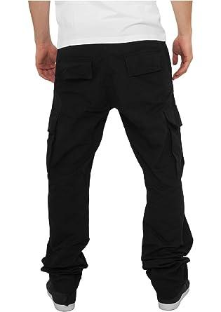 Urban Classics - Camouflage Cargo (Black) - Pantalon - Noir - W38   Amazon.fr  Vêtements et accessoires bd0ff98555d2