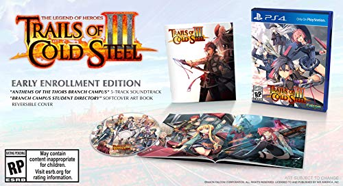 51jDo3EAOuL - The Legend of Heroes: Trails of Cold Steel III - PlayStation 4