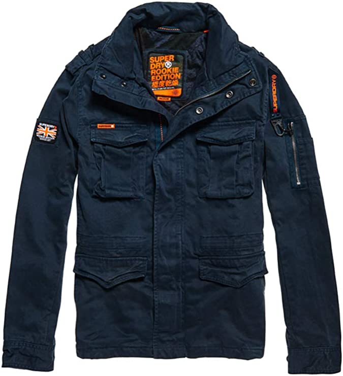 Superdry classic Rookie military jacket in green