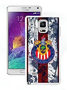 Samsung Galaxy Note 4 Chivas USA 11 White Cellphone Case Unique and Popular Design