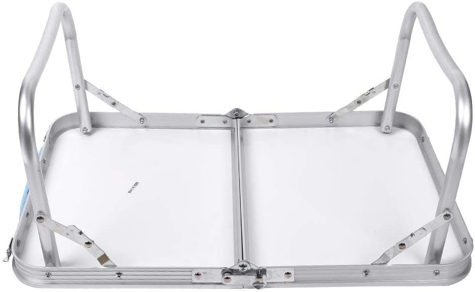 AYNEFY 60 x 40 x 26 cm Picnic Giardino Tavolo Pieghevole Portatile da Campeggio Feste Cena