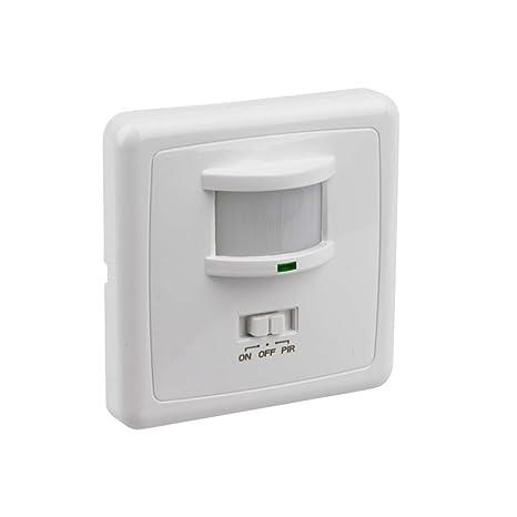 Khebang Detector Infrarrojo Sensor Movimiento 160 Angulo De Detección Color Blanco