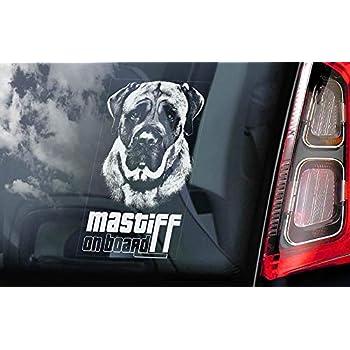 Amazon.com: Pegatina para ventana de coche con diseño de ...