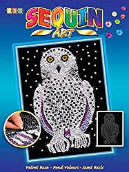 Blue Snowy Owl Arts and Crafts Kit