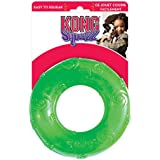 KONG Squeezz Ring Dog Toy, Large, Colors Vary