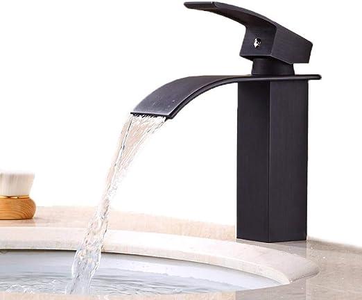 3 Colors 2PCs Wall Mount  Brass Baisn Tub Mixer Faucet Waterfall Spary Tap