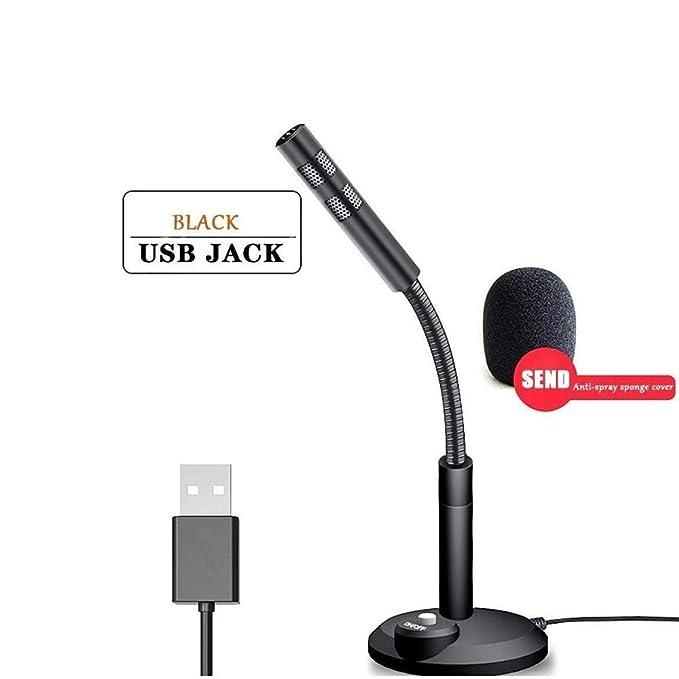 BHDYHM Micrófono de escritorio, flexible cuello de cisne de ...