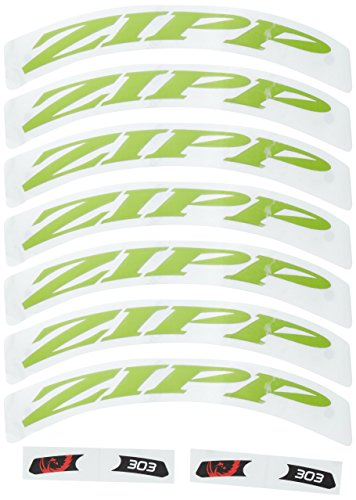 Zipp Decal Set 303 Matte Green Logo Complete for One for sale  Delivered anywhere in Canada