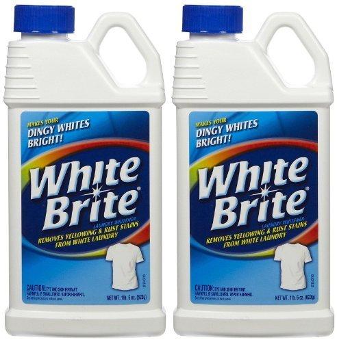 - White Brite Laundry Whitener, 22 oz-2 pk