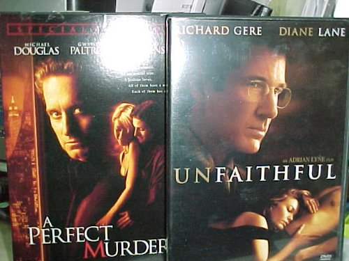 Unfaithful , a Perfect Murder : Cheating Wives 2 Pack Collection